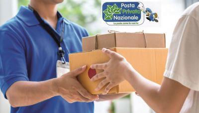 offerta spedizione pacchi poste italiane posta privata nazionale di novara