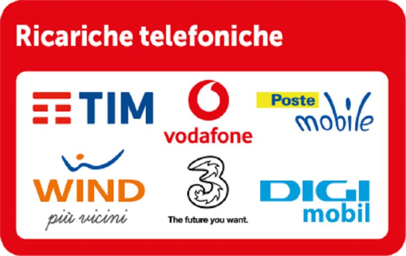 Promozione su ricariche telefoniche qualsiasi gestore
