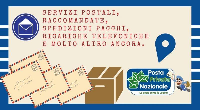 Offerta i servizi postali, raccomandate, spedizioni pacchi, ricariche telefoniche a Novara – Occasione Posta Privata Nazionale di Novara