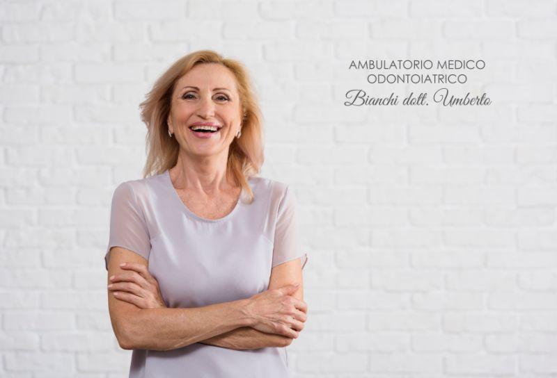 AMBULATORIO MEDICO ODONTOIATRICO DOTT BIANCHI protesi fissa mobile scanner digitale intra orale