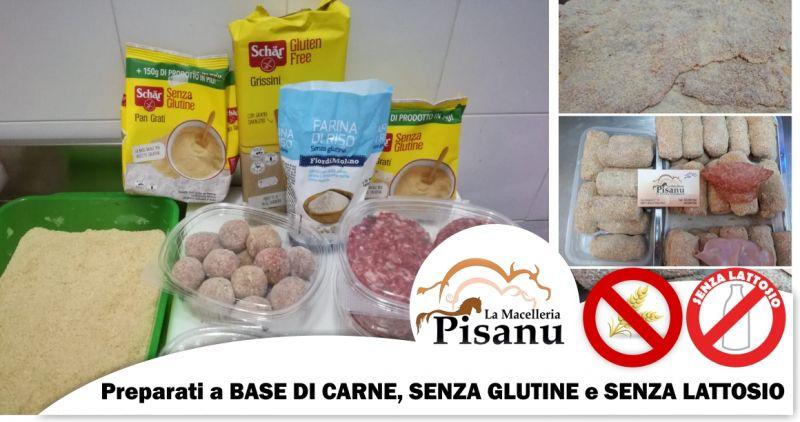 MACELLERIA PISANU - offerta preparati a base di carne pronti da cuocere senza glutine e senza lattosio