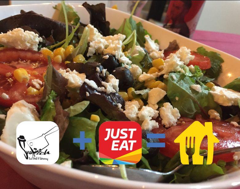 SNATCH fast food takeaway consegna a domicilio - promozione justeat ordina online