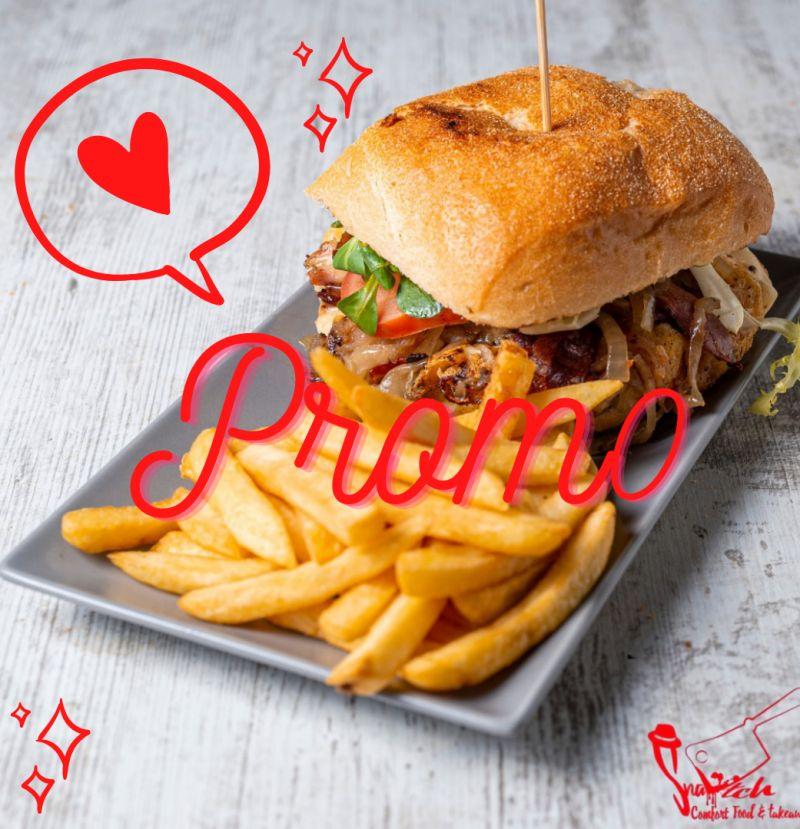 SNATCH fast food takeaway promozione menu asporto – offerta pranzo a domicilio