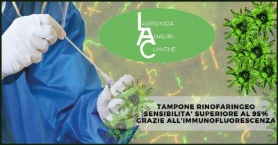 occasione tampone rinofaringeo con test immunofluorescenza indiretta offerta test covid