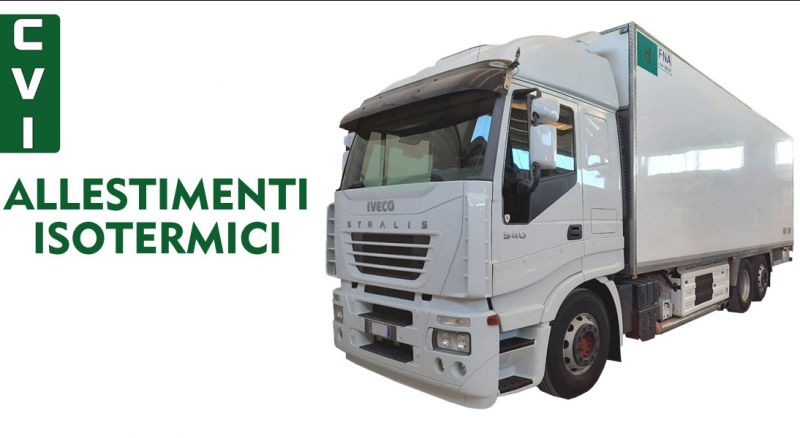 C.V.I. offerta allestimenti isotermici veicoli industriali Modugno Bari – Promozione trasporto a temperatura controllata Modugno