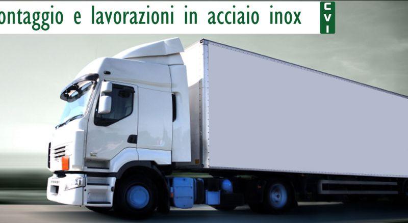 Offerte montaggio allestimenti veicoli industriali Bari – Promozioni lavorazioni in acciaio inox veicoli commerciali Bari
