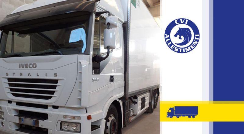 C.V.I. – offerta allestimenti isotermici per veicoli industriali bari – promozione allestimenti isotermici per trasporto a temperatura controllata bari