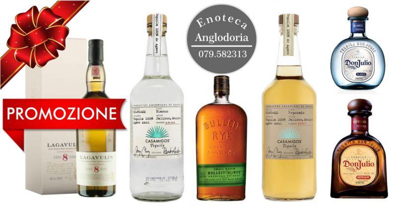 promozione enoteca ANGLODORIA - offerta distillati pregiati idea regalo natale