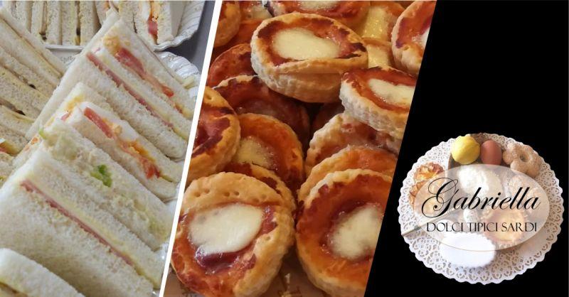 Gabriella laboratorio artigiano - offerta pizzette e tramezzini per feste e compleanni