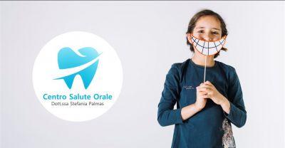 centro salute orale offerta dentista per bambini con studio specializzato in odontoiatria pediatrica
