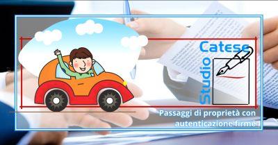 offerta autenticazione firme anzio occasione passaggio auto di proprieta aprilia