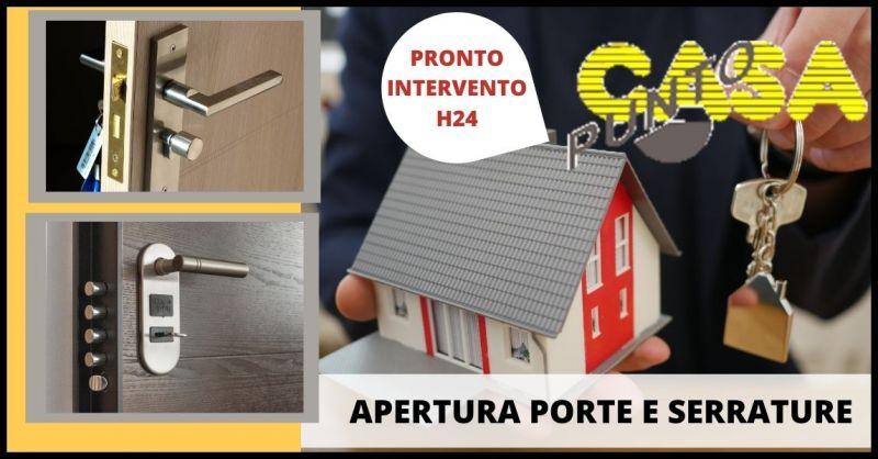 offerta pronto intervento h24 apertura porte e serrature Firenze - PUNTO CASA