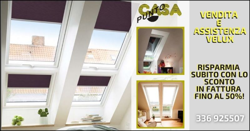 occasione vendita e assistenza finestre Velux - offerta ecobonus 2021 infissi