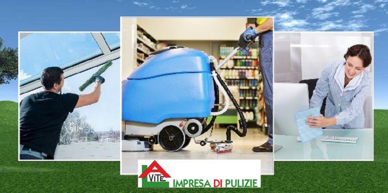 promozione impresa di pulizia civili e industriali - IMPRESA DI PULIZIE LA VITE