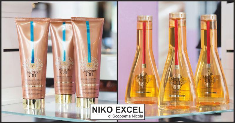 parrucchiere niko excel offerta cura dei capelli - occasione capelli lucidi e morbidi massa
