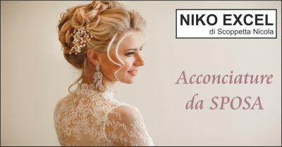 niko excel offerta acconciature da sposa occasione parrucchiere sposa massa carrara