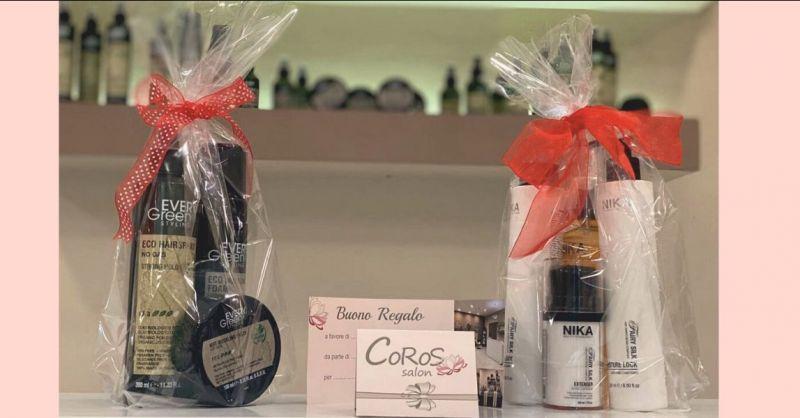 offerta idee regalo di natale e prodotti per capelli Lucca - occasione parrucchiere uomo donna Lucca
