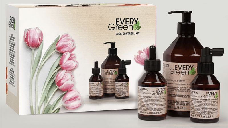 offerta  kit Loss Control EveryGreen contro la caduta dei capelli