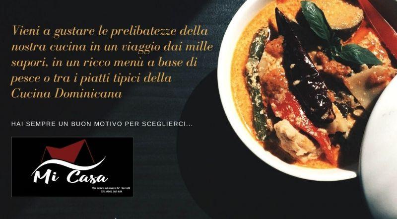 Occasione cucina di pesce domenicana a Vercelli – Offerta ristorante con musica dal vivo a Vercelli