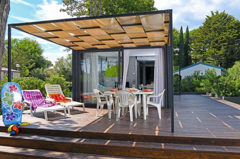 Vier Sterne Campingplatz Italien direkt am Meer, mit Pool, Wasserpark und Wellnessbereich