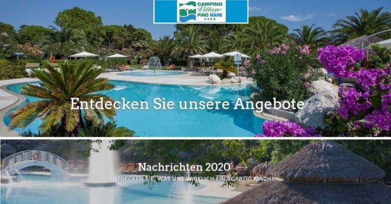 CAMPING PINO MARE - ANGEBOTE FÜR DEN SOMMERURLAUB lignano sabbiadoro bungalow Sommerurlaub 2020