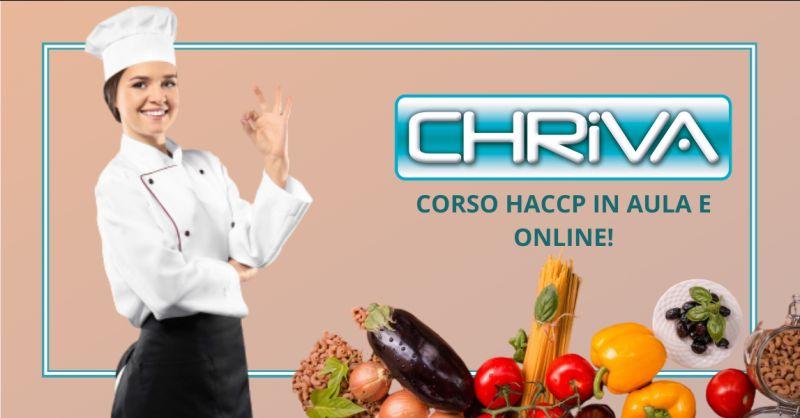 CHRIVA SRL Offerta corso haccp online roma - occasione corso haccp per alimentaristi roma