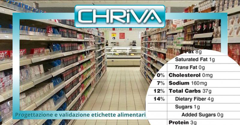 Offerta progettazione etichette alimenti roma - occasione validazione etichette alimentari roma
