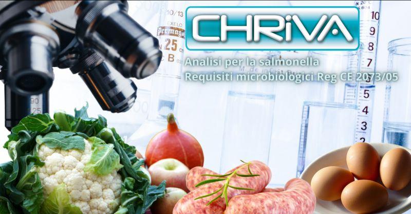 Offerta analisi requisiti microbiologici Reg CE 2073 05 Roma - occasione analisi salmonella Roma