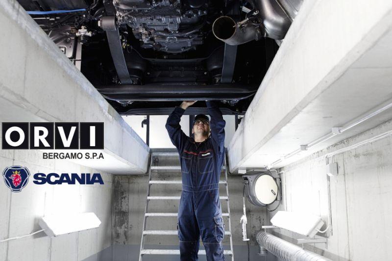 O.R.V.I. BERGAMO SPA offerta riparazione camion - promozione officina autorizzata scania