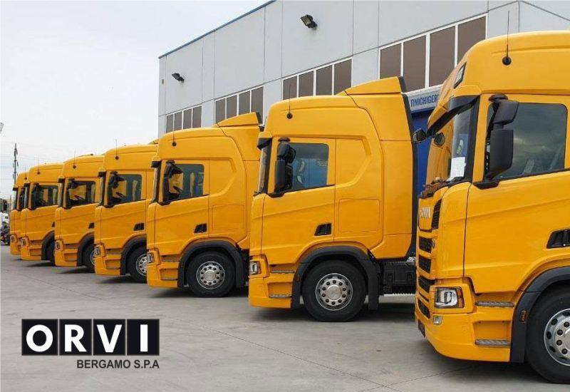 O.R.V.I. BERGAMO SPA concessionario scania autorizzato - promozione veicoli scania nuovi