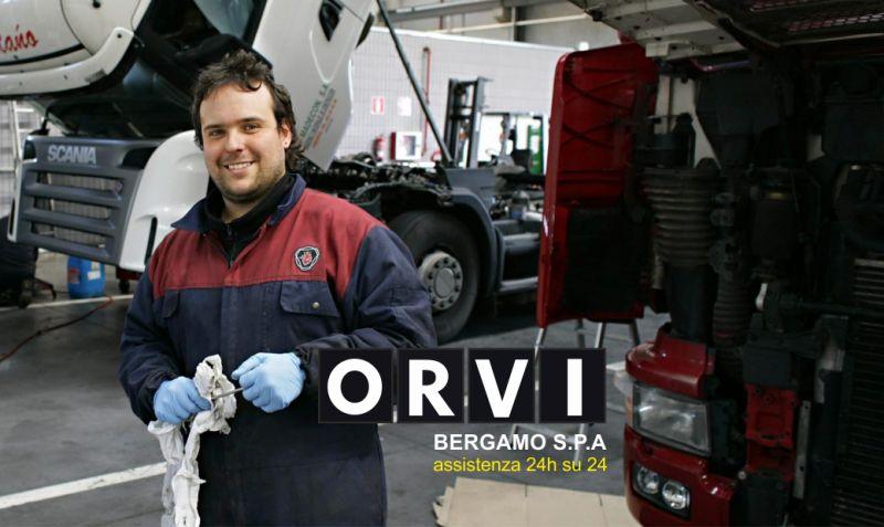 ORVI BERGAMO SPA servizio di assistenza stradale 24 ore - promozione emergenza su strada