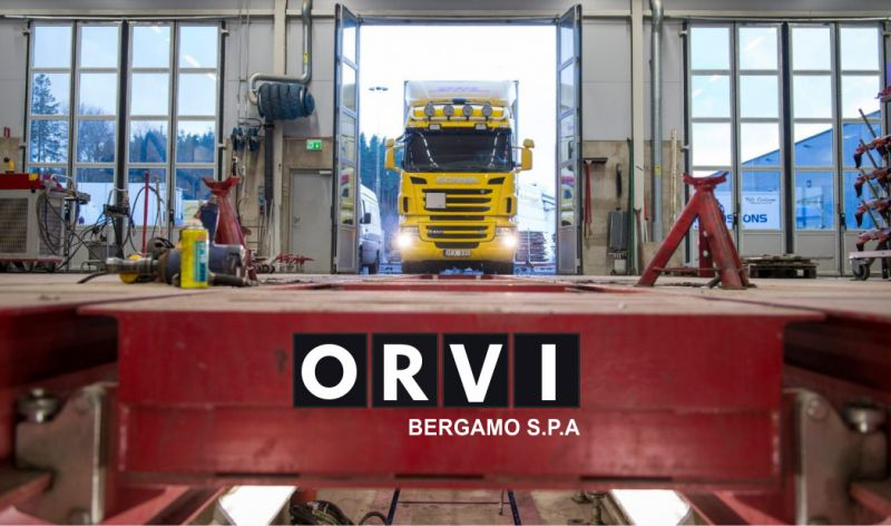 ORVI BERGAMO SPA offerta riparazione camion scania - promozione officina per autocarri