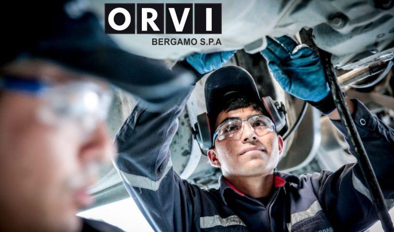 ORVI BERGAMO SPA offerta riparazione autobus scania - promozione officina per bus granturismo