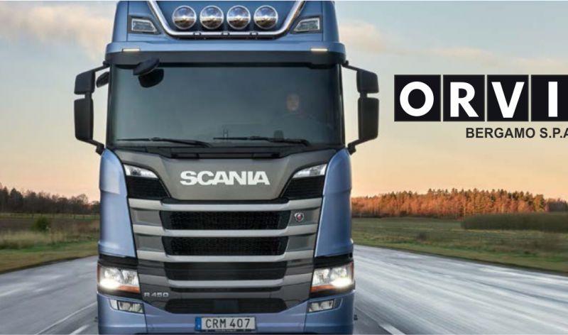 ORVI BERGAMO SPA offerta mezzi industriali usati - promozione camion usati scania