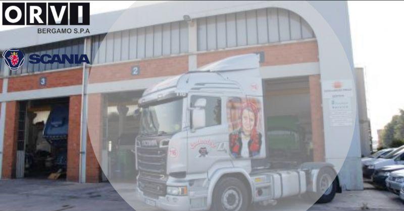 ORVI BERGAMO - Offerta officina Scania per riparazione camion e autocarri Bergamo