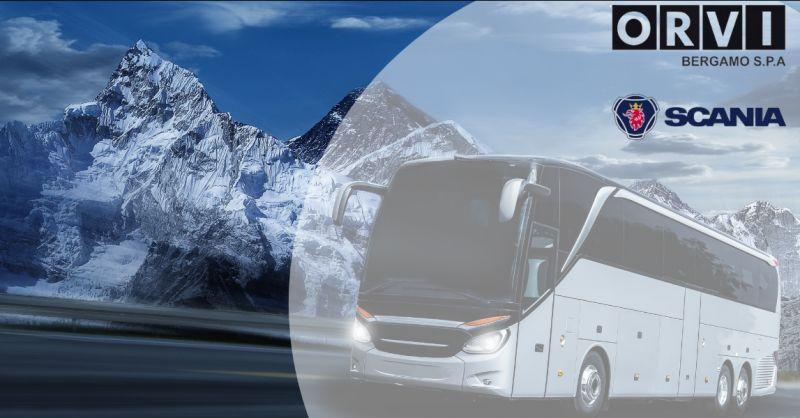 ORVI BERGAMO - Offerta officina Scania per riparazione autobus gran Turismo Bergamo