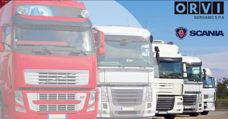 ORVI BERGAMO - Offerta vendita ricambi originali garantiti Scania Bergamo