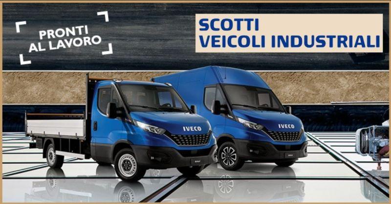 promozioni su Furgoni o Camion Iveco e Fiat Professional - SCOTTI VEICOLI INDUSTRIALI