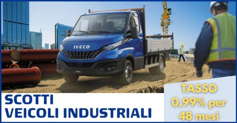 offerta vendita furgone cabinato Iveco Daily - occasione veicoli commerciali Toscana