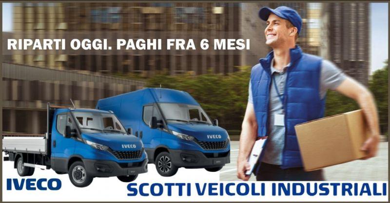 promozione veicoli commerciali IVECO nuovi e usati Firenze - offerta autocarri IVECO Siena