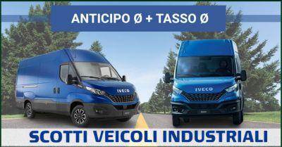 occasione promozione iveco doppio 0 con zero anticipo e zero tasso scotti veicoli