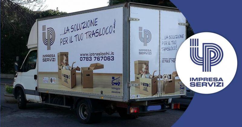 IP IMPRESA E SERVIZI - offerta servizio di trasloco affidabile per uffici Sardegna