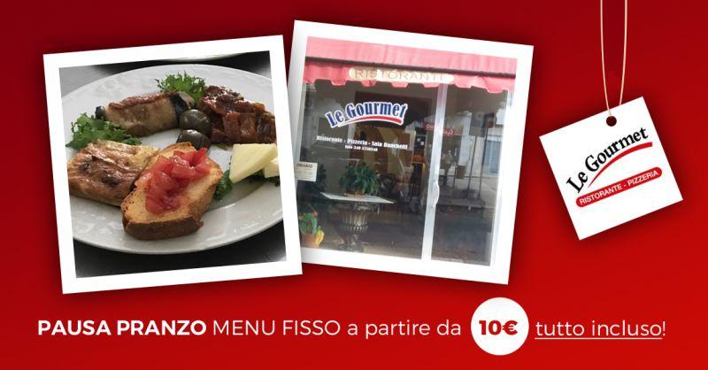 offerta pausa pranzo ristorante castelvetrano - occasione pranzo menu fisso castelvetrano