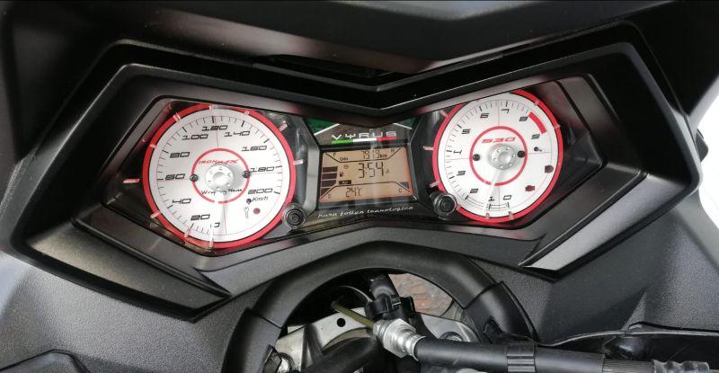 Strumentazione personalizzata Yamaha Tmax 530