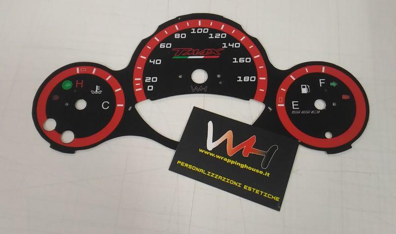 Strumentazione Personalizzata per Yamaha Tmax 500 dal 2008 al 2011