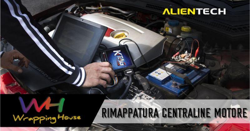 Wrapping House- promozione rimappatura centraline motore con software sicuri professionali