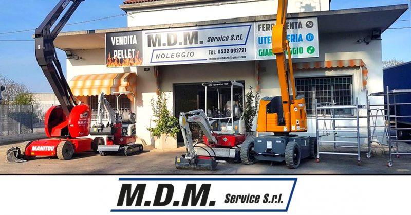Offerta noleggio macchine operatrici Ferrara - occasione attrezzature da lavoro a noleggio