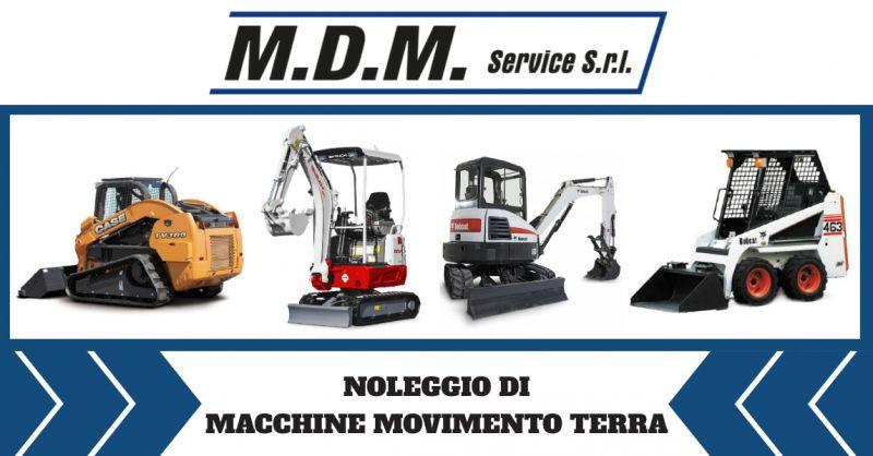 Occasione noleggio macchine movimento terra Ferrara - offerta mini escavatori a noleggio Ravenna