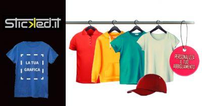 offerta realizzazione abbigliamento personalizzato ferrara occasione stampe su maglie ravenna
