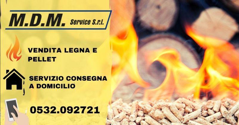 Offerta legna da ardere ingrosso Ferrara - Occasione vendita pellet consegna a domicilio Ravenna